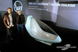 Tribe Art Commission2 with Hassen Chalayan: Jenson Button and Hassen Chalayan