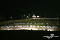 Mount Panorama by night