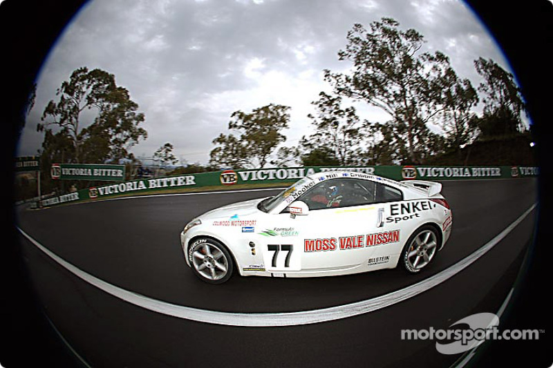 #77 Nathan Pilkington Nissan 350Z Version S: Nathan Pilkington, Denis Cribbin, Roland Hill, Ryan Hooker