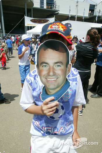 Another Marcos Ambrose cutout face