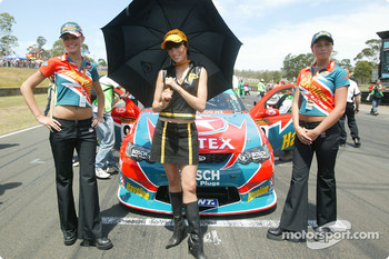 The lovely Caltex grid girls