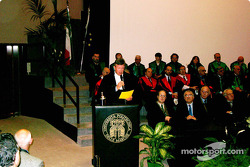 Ross Brawn receive an honorary degree