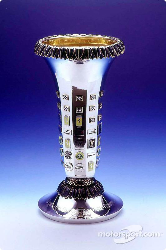 Formula One Teams World Championship trophy