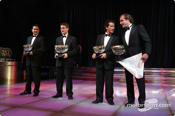 Carlos Sainz, Sbastien Loeb, Marc Martin and Daniel Elena