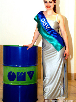 A lovely OMV hostess