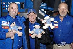 Team de Rooy mascots