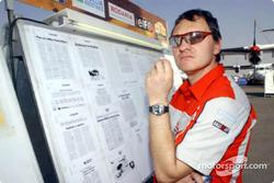 Mitsubishi Motor Sports team director Dominique Serieys