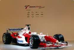 The Toyota TF104 is presented to the world