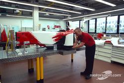 Composites - Adjustments to the monocoque