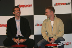 Oliver Gavin and Jan Magnussen interview on Autosport Stage