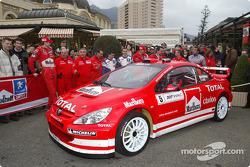Marlboro Peugeot launch in Monaco