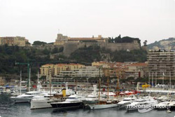 The harbor in Monaco