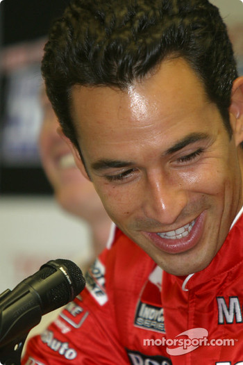 2003 Championship contenders press conference: Helio Castroneves
