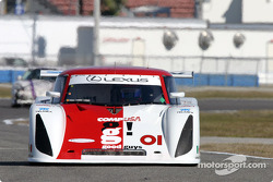 #01 CGR Grand Am Lexus Riley: Scott Pruett, Max Papis, Jimmy Morales