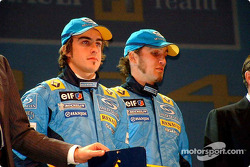 Fernando Alonso and Franck Montagny