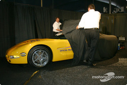 The pace car for the 2004 Daytona 500 is unveiled