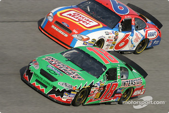 Bobby Labonte and Mark Martin