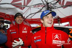 Winner Sébastien Loeb celebrates