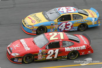 Ricky Rudd and Jeff Green