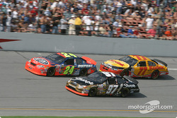 Jeff Gordon, Kurt Busch and Brendan Gaughan