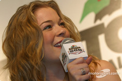 Press conference: recording artist LeAnn Rimes will sing National Anthem