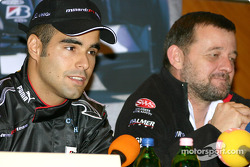 Press conference: Zsolt Baumgartner and Paul Stoddart