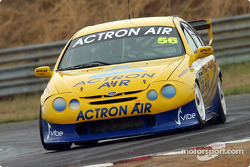 Kevin Mundy in the Actron Air Ford has announced he is serious about this years championship