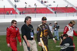 NEXTEL photoshoot: Sterling Marlin, Dale Jarrett and Bill Elliott
