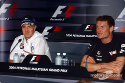Press conference: Ralf Schumacher and David Coulthard