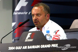 FIA press conference: Mike Gascoyne, Toyota Technical Director Chassis