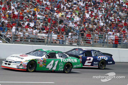 Casey Mears and Rusty Wallace