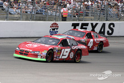 Jeremy Mayfield and Jimmy Spencer