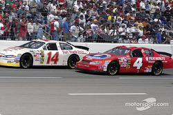 Lary Foyt and Jimmy Spencer