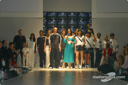 Fashion Show of the BMW WilliamsF1 Team Collection with host Nandini Mitra