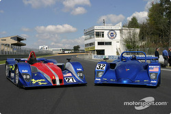 Intersport Racing Lola Judd LM P1 and LM P2