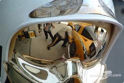 Reflection of Corvette Racing Corvette C5-R