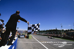 Second place finish for Jenson Button