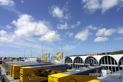 Estoril paddock