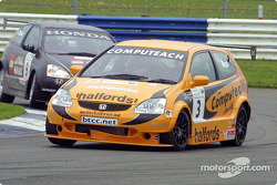 Matt Neal ahead of Tom Chilton