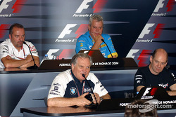 Thursday press conference: Patrick Head, Adrian Newey, Mike Gascoyne and Pat Symonds