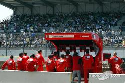 Ducati pits