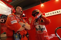 Rubens Barrichello and Gabriele delli Colli