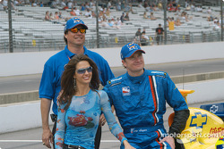 Kara Lazier, Owen Snyder and Buddy Lazier