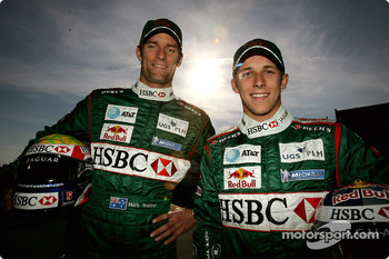 Mark Webber and Christian Klien