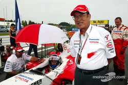President of Toyota Motor Corporation Fujio Cho