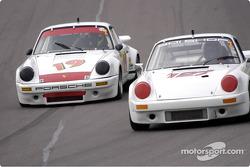 1973 Poesche IROC RSR and 1972 Porsche 911