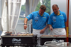 Renault F1 chefs