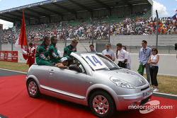 Drivers presentation: Robbie Stirling, Werner Lupberger, Kevin McGarrity