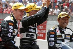 Drivers presentation: Tom Coronel, Justin Wilson, Ralph Firman