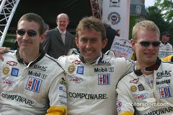 Olivier Gavin, Oliver Beretta and Jan Magnussen